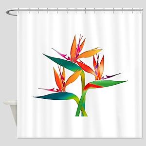 Bird Of Paradise Flowers Shower Curtain 4995 6499
