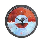 In Limbo - Cinnabar Wall Clock