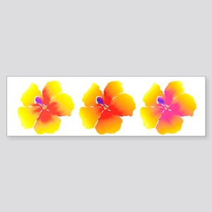Variations on a Hibiscus Yellow & Orange Bumper St