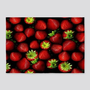 Strawberry Delight 5'x7'Area Rug