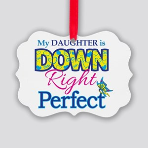 Daughter_Down_Rt_Perfect Picture Ornament