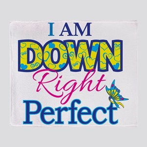 Iam_Down_Rt_Perfect Throw Blanket