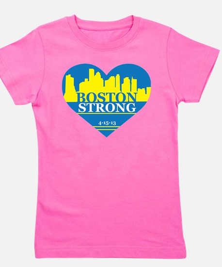 Unique Boston strong Girl's Tee
