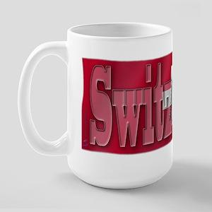 Soccer Flag Switzerland Large Mug