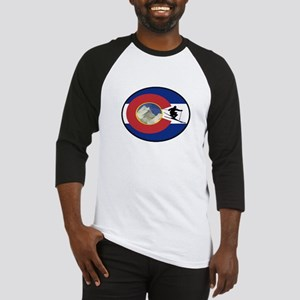 COLORADO SKI TIME Baseball Jersey