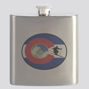 COLORADO SKI TIME Flask