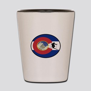COLORADO SKI TIME Shot Glass