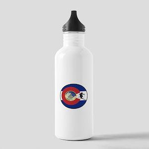 COLORADO SKI TIME Water Bottle