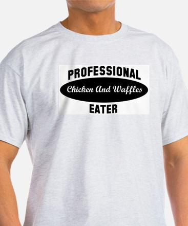 Pro Chicken And Waffles eater T-Shirt