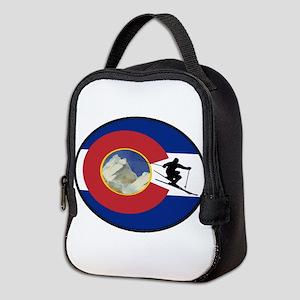 COLORADO SKI TIME Neoprene Lunch Bag
