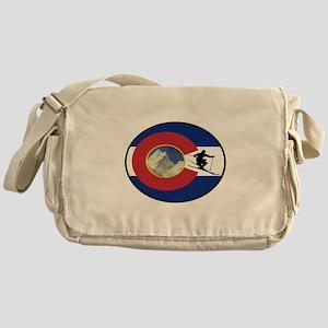 COLORADO SKI TIME Messenger Bag