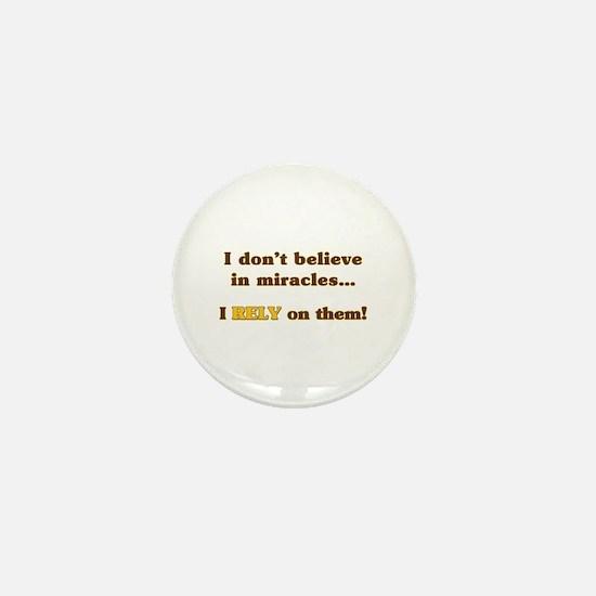 Miracle Student Mini Button
