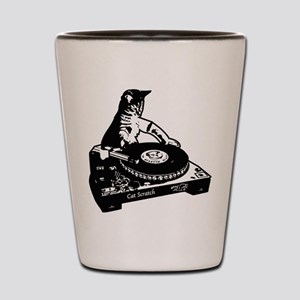 Cat Scratch Shot Glass