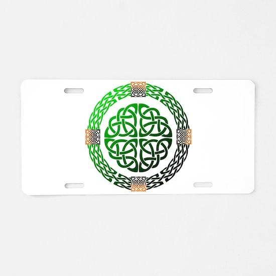 Celtic Knots Aluminum License Plate