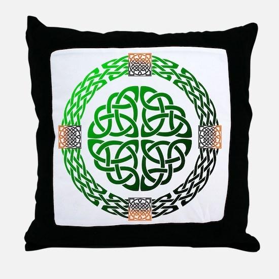 Celtic Knots Throw Pillow