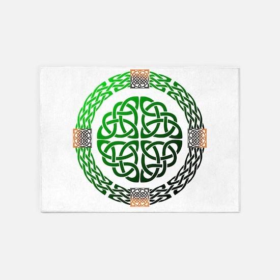 Celtic Knots 5'x7'Area Rug