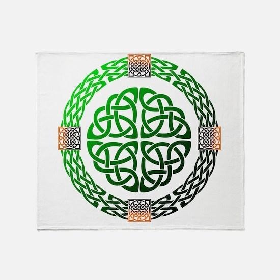 Celtic Knots Throw Blanket