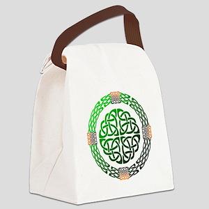 Celtic Knots Canvas Lunch Bag