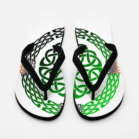 Celtic Knots Flip Flops