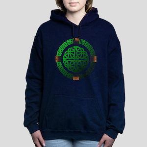 Celtic Knots Women's Hooded Sweatshirt