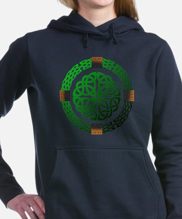 Celtic Knots Women's Hooded Sweatshirt