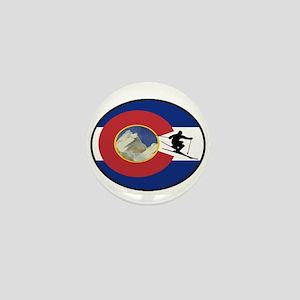 COLORADO SKI TIME Mini Button