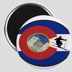 COLORADO SKI TIME Magnets
