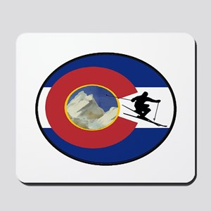 COLORADO SKI TIME Mousepad