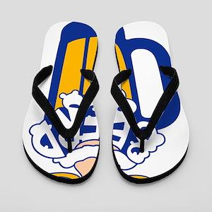 Beerd Blue Flip Flops