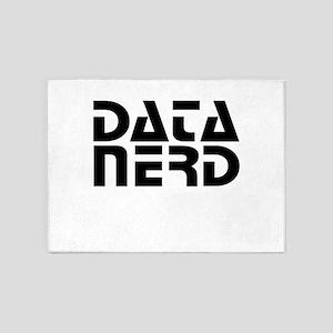 DATA NERD 2 5'x7'Area Rug