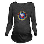 big-logo Long Sleeve Maternity T-Shirt