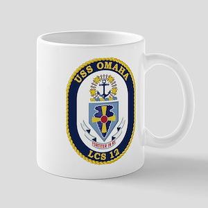 USS Omaha LCS-12 Mug