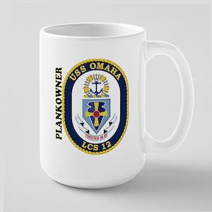 Plankowner LCS-12 Large Mug