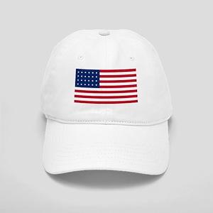 24 Star US Flag Cap
