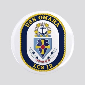 USS Omaha LCS-12 Button
