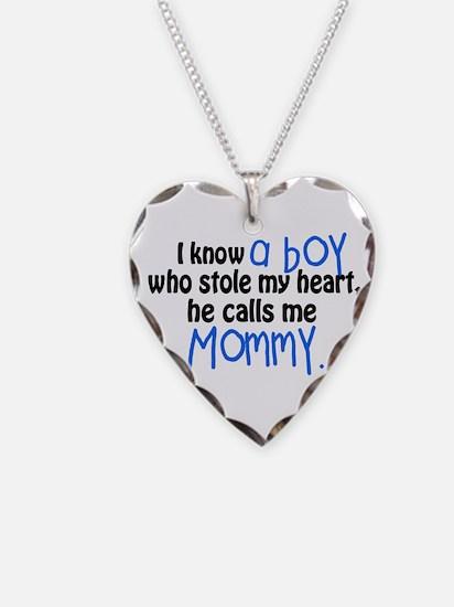 I know a boy Necklace