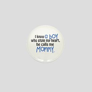 I Know A Boy Mini Button