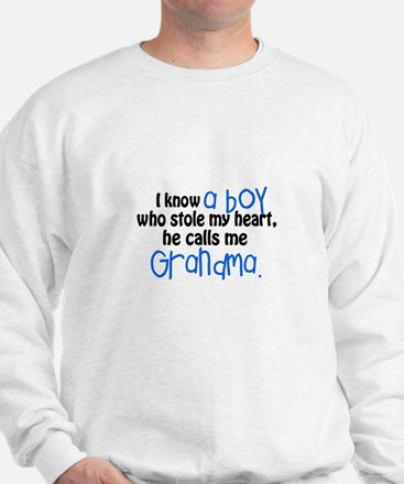 I know a boy Sweatshirt