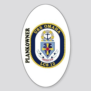 Plankowner LCS-12 Sticker (Oval)