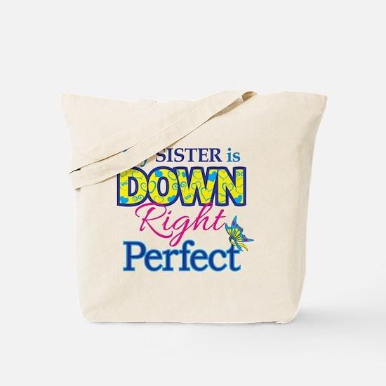 Sister_Down_Rt_Perfect Tote Bag