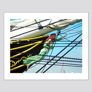 Lady Ships Figure Small Poster