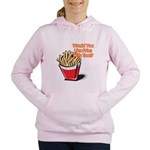 fries with that.png Women's Hooded Sweatshirt