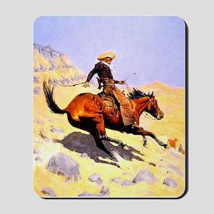 The Cowboy Mousepad