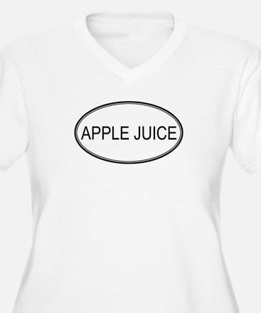 APPLE JUICE (oval) T-Shirt