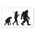 Evolution of Bigfoot Sticker