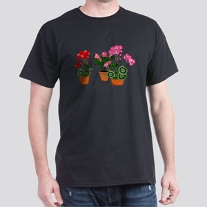 Planters of Mixed Geraniums T-Shirt