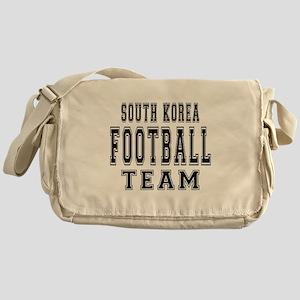 South Korea Football Team Messenger Bag