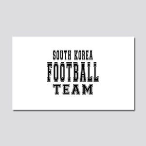 South Korea Football Team Car Magnet 20 x 12