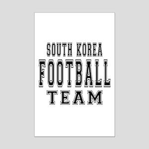 South Korea Football Team Mini Poster Print