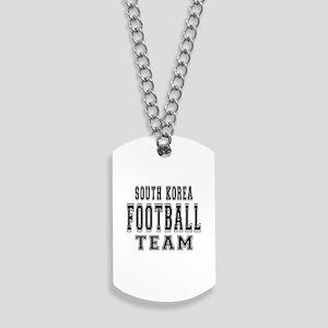 South Korea Football Team Dog Tags
